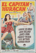 """Movie Posters:Adventure, Hurricane Smith & Other Lot (Paramount, 1952). Folded, Fine+. Argentinean One Sheet (29"""" X 43"""") & Insert (14"""" X 36""""). Advent... (Total: 2 Items)"""