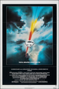 """Movie Posters:Action, Superman the Movie (Warner Bros., 1978). Folded, Fine/Very Fine. One Sheet (27"""" X 41""""). Bob Peak Artwork. Action.. ..."""