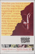 "Movie Posters:Drama, Splendor in the Grass (Warner Bros., 1961). Folded, Very Fine-. One Sheet (27"" X 41""). Drama.. ..."