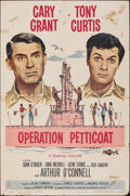 """Movie Posters:Comedy, Operation Petticoat (Universal International, 1959). Folded, Very Good/Fine. One Sheet (27"""" X 41""""). Comedy.. ..."""