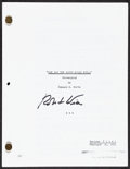 """Movie Posters:Science Fiction, The Day the Earth Stood Still (c. 1990s). Very Fine+. Autographed Photocopied Revised Final Script (117 Pages, 8.5"""" X 11"""") &... (Total: 2 Items)"""