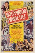 """Movie Posters:Musical, Hollywood Varieties (Lippert, 1950). Folded, Fine/Very Fine. One Sheet (27"""" X 41""""). Musical. From the Collection of Frank ..."""