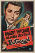 """Movie Posters:Film Noir, When Strangers Marry & Other Lot (Monogram, R-1948). Folded, Fine/Very Fine. One Sheets (2) (27"""" X 41""""). Re-Release Title: B... (Total: 2 Items)"""