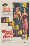 """Movie Posters:Drama, God's Little Acre & Other Lot (United Artists, 1957). Folded, Overall: Very Good/Fine. One Sheets (2) (27"""" X 41""""). Drama.. ... (Total: 2 Items)"""