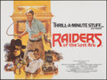 "Movie Posters:Adventure, Raiders of the Lost Ark (Paramount, 1981). Folded, Very Fine/Near Mint. British Quad (30"" X 40""). Brian Bysouth Artwork. Adv..."