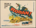 "Movie Posters:Science Fiction, Rodan! The Flying Monster (Toho/ DCA, 1957). Very Fine- on Paper. Half Sheet (22"" X 28""). Science Fiction.. ..."