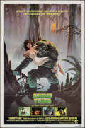 "Movie Posters:Horror, Swamp Thing (Embassy, 1982). Folded, Very Fine+. One Sheet (27"" X 41""). Richard Hescox Artwork. Horror.. ..."
