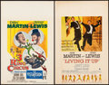 """Movie Posters:Comedy, 3 Ring Circus & Other Lot (Paramount, 1954). Very Fine. Window Cards (2) (14"""" X 22""""). Comedy.. ... (Total: 2 Items)"""