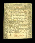 Colonial Notes:Connecticut, Connecticut June 19, 1776 1s/6d Choice New....