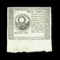 Colonial Notes:Continental Congress Issues, Continental Currency September 26, 1778 $30 Choice About New....