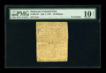 Colonial Notes:Delaware, Delaware May 1, 1758 10s PMG Very Good 10 Net....