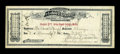 Obsoletes By State:Minnesota, Gray Cloud Island, MN- Labor Exchange $2.50 Deposit Receipt 1897....