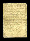 Colonial Notes:Massachusetts, Massachusetts August 18, 1775 2s Fine....