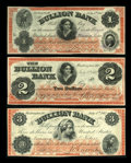 Obsoletes By State:District of Columbia, Washington, DC - Bullion Bank $1; $2; $3 July 4, 1862 G20; G22a; G24a. ... (Total: 3 notes)