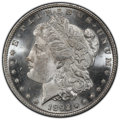 Morgan Dollars, 1892 $1 MS65 Prooflike PCGS. The 1892 is a better date among Philadelphia issues, and Prooflike examples are especially sca...