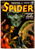 Pulps:Hero, The Spider - January 1937 (Popular) Condition: VG+....