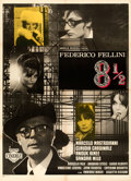 Movie Posters:Foreign, 8½ (Embassy, 1963). Very Fine- on Linen. Italian ...