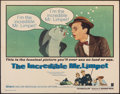"""Movie Posters:Comedy, The Incredible Mr. Limpet (Warner Bros., 1964). Folded, Fine/Very Fine. Half Sheet (22"""" X 28""""). Comedy.. ..."""