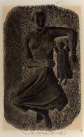 Prints & Multiples, Margo Hoff (American, 1910-2008). Wounded Bird and Mother and Child (two works), late 20th ce...