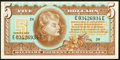 Military Payment Certificates:Series 692, Series 692 $5 Choice Crisp Uncirculated.. ...