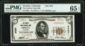 Greeley, CO - $5 1929 Ty. 1 The Greeley Union National Bank Ch. # 4437 PMG Gem Uncirculated 65 EPQ
