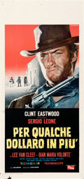 Movie Posters:Western, For a Few Dollars More (PEA, 1965). Folded, Fine/Very Fine...