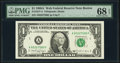 Fr. 1917-A $1 1988A Web Federal Reserve Note. PMG Superb Gem Unc 68 EPQ