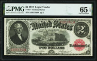 Fr. 57 $2 1917 Legal Tender PMG Gem Uncirculated 65 EPQ