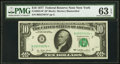 Fr. 2023-B* $10 1977 Federal Reserve Note. PMG Choice Uncirculated 63 EPQ