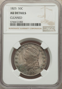 1825 50C -- Cleaned -- NGC Details. AU. Mintage 2,900,000. ...(PCGS# 6142)