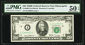 Fr. 2069-I $20 1969B Federal Reserve Note. PMG About Uncirculated 50 EPQ