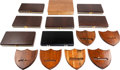 Edged Weapons:Knives, Lot of Fourteen (14) Knife Display & Carrying Cases.. ...