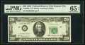 Fr. 2065-J* $20 1963 Federal Reserve Note. PMG Gem Uncirculated 65 EPQ