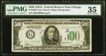 Fr. 2202-G $500 1934A Federal Reserve Note. PMG Choice Very Fine 35