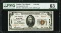 Granite City, IL - $20 1929 Ty. 2 First Granite City National Bank Ch. # 6564 PMG Choice Uncirculated 63