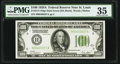 Fr. 2151-H $100 1928A Dark Green Seal Federal Reserve Note. PMG Choice Very Fine 35