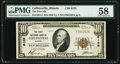 Collinsville, IL - $10 1929 Ty. 1 The First National Bank Ch. # 6125 PMG Choice About Unc 58
