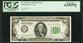 Fr. 2154-E $100 1934B Federal Reserve Note. PCGS Choice New 63PPQ