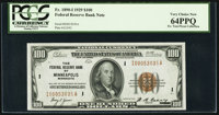 Fr. 1890-I $100 1929 Federal Reserve Bank Note. PCGS Very Choice New 64PPQ