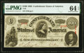 Confederate Notes:1863 Issues, T56 $100 1863 PF-1 Cr. 403 PMG Choice Uncirculated 64 EPQ.. ...
