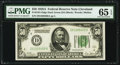 Fr. 2101-D $50 1928A Dark Green Seal Federal Reserve Note. PMG Gem Uncirculated 65 EPQ