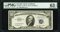 Fr. 1706* $10 1953 Silver Certificate. PMG Choice Uncirculated 63 EPQ