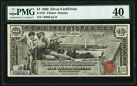 Fr. 224 $1 1896 Silver Certificate PMG Extremely Fine 40