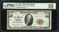 Fr. 1860-I $10 1929 Federal Reserve Bank Note. PMG About Uncirculated 53