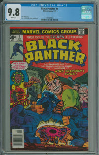 Black Panther #1 (Marvel, 1977) CGC NM/MT 9.8 White pages