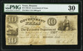 Houston, TX- Government of Texas $10 Nov. 6, 1838 Cr. H17 PMG Very Fine 30