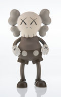 Collectible, KAWS (b. 1974). Companion (Brown), 1999. Painted cast vinyl. 7-1/2 x 4-1/2 x 2 inches (19.1 x 11.4 x 5.1 cm). Edition of...