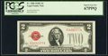 Fr. 1508 $2 1928G Legal Tender Note. PCGS Superb Gem New 67PPQ