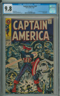 Captain America #107 (Marvel, 1968) CGC NM/MT 9.8 Off-white to white pages