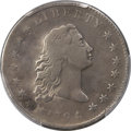 1794 $1 B-1, BB-1, R.4 -- Repaired -- PCGS Genuine. Fine Details....(PCGS# 39972)